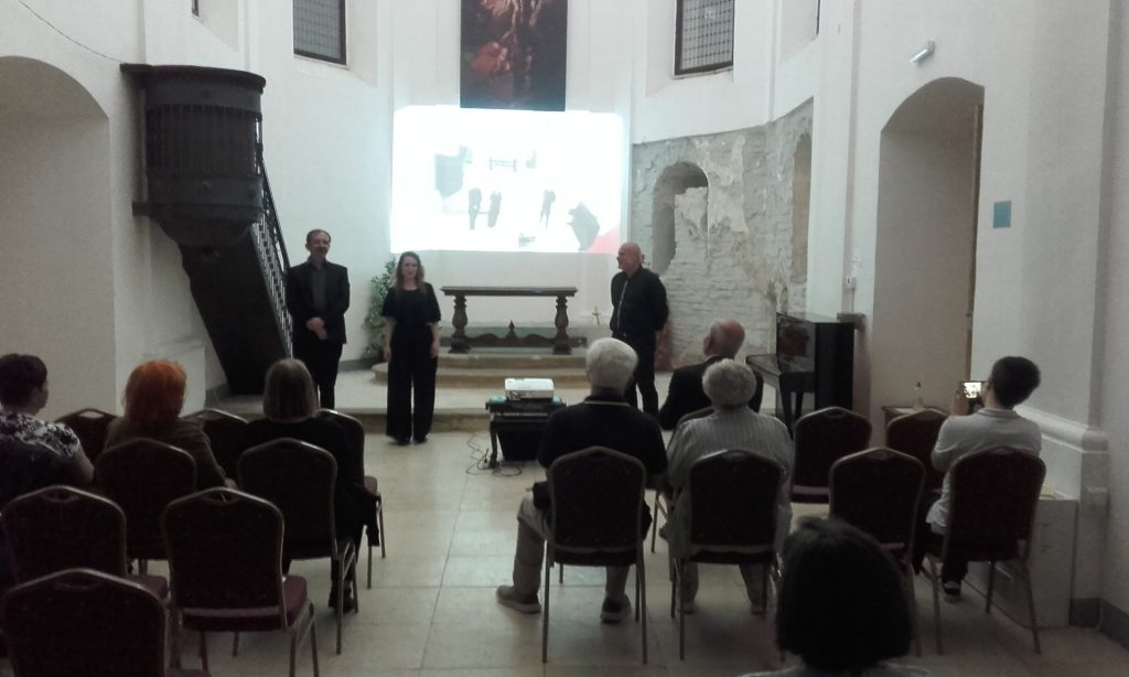 Nastup Bach trio (Marta Schwaiger – sopran, Dani Bošnjak – flauta i Mario Penzar – orgulje)